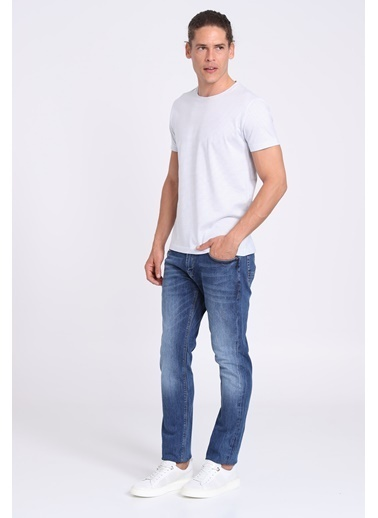 Lufian Gora Fashion Jean Pantolon Slim Fit Indıgo İndigo